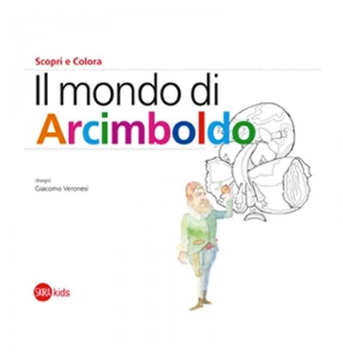 The world Arcimboldo - discover and color