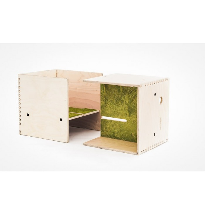 Set stool and coffee table - Max in the box - Perludi