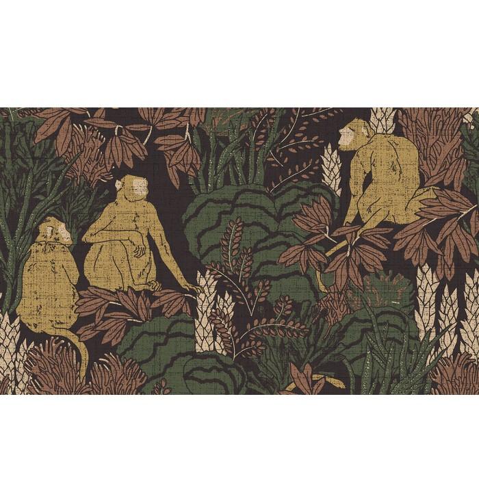 Wallpaper Curiosa - Langur - Arte