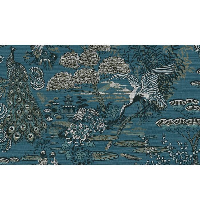 Curiousa Wallpaper - Lotus - Arte