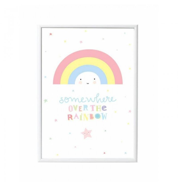 POSTER  50x70 - Rainbow - A Little Lovely Company
