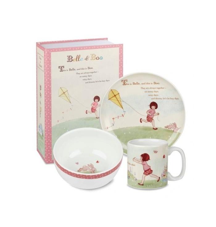 Ceramic breakfast set - Belle & Boo