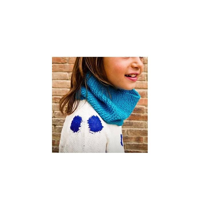 Kit per imparare a lavorare a maglia - Scalda collo
