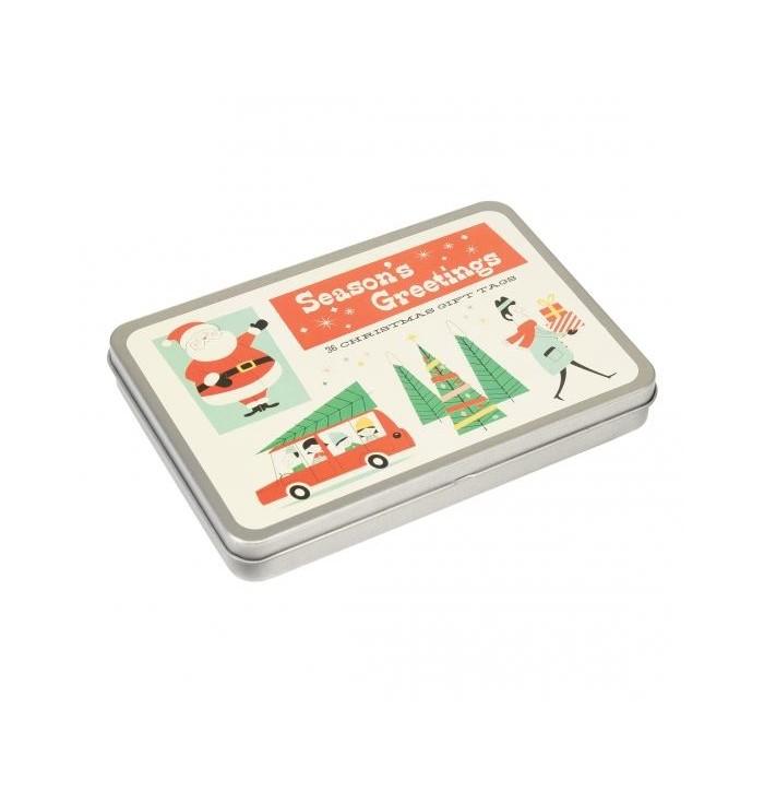 Christmas package closure kit
