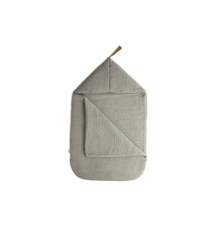 Stroller sleeping bag - Silver grey