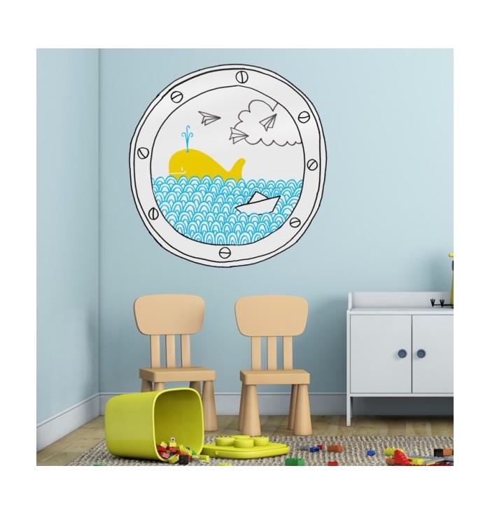 Sticker Porthole - Chispum