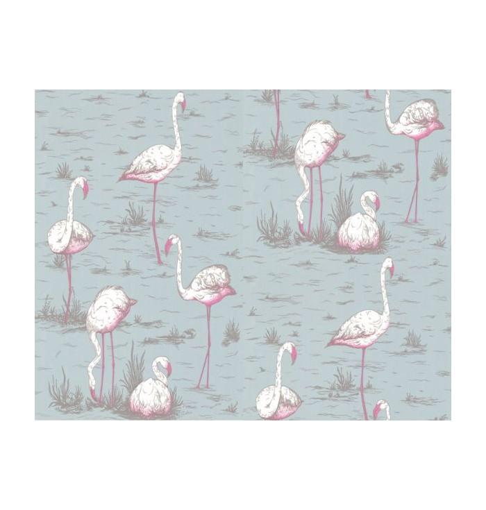 Wallpaper - Flamingos