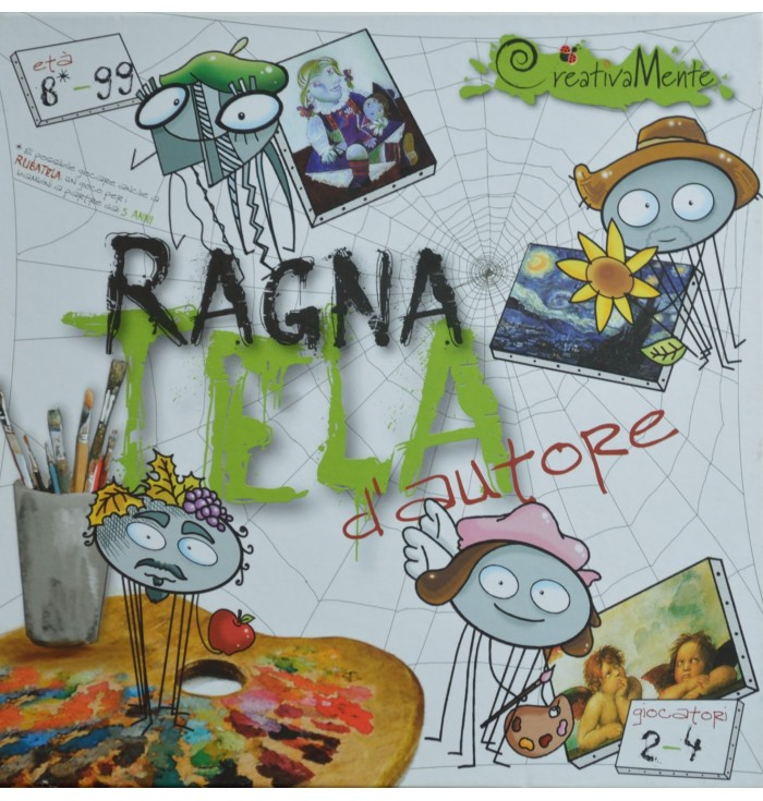 Art Game - Spider Web Author - Creativamente