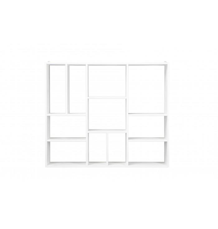 Mensola XL bianca 11 scomparti - Woood