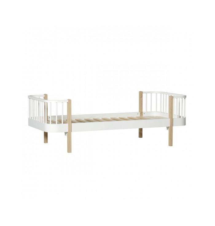 Wood Bed - Oliver Furniture