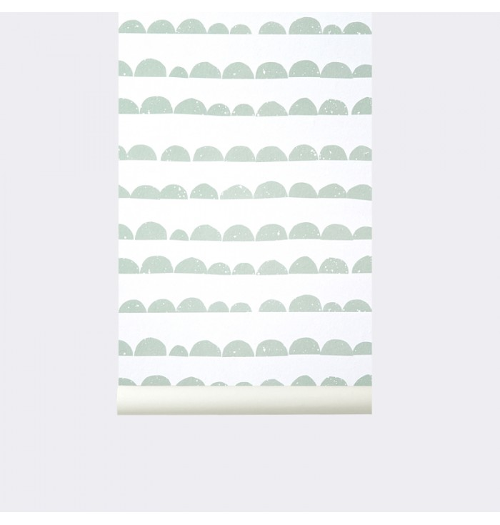 Wallpaper Crescent Paper - Ferm Living