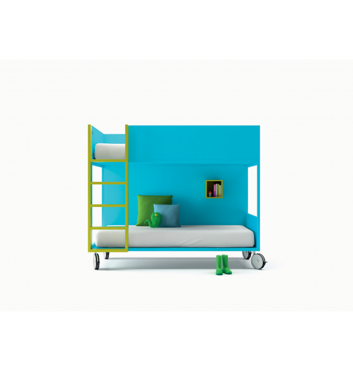 Bunk Bed With Wheels