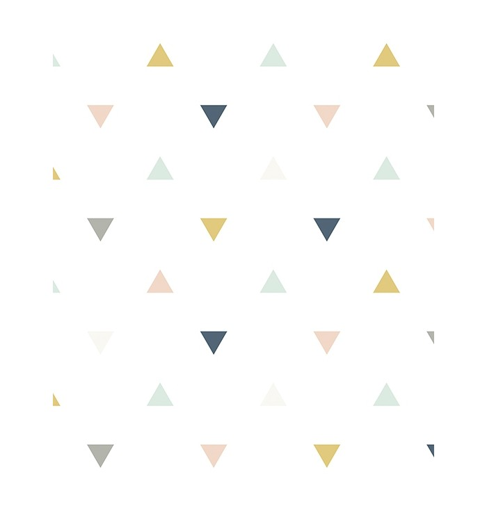Carta da parati geo triangles