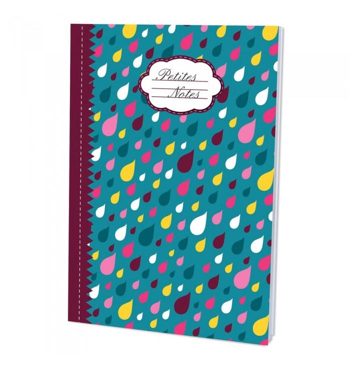 Quadernino Petit notes con gocce