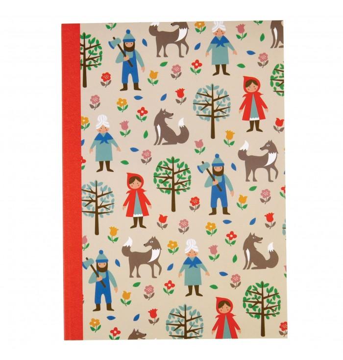 Notebook A5 - Little Red Riding Hood