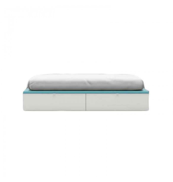 Compact bed with two drawers - Lagrama