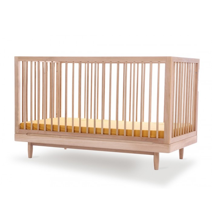 Crib / Cot Evolutionary Pure Solid Oak