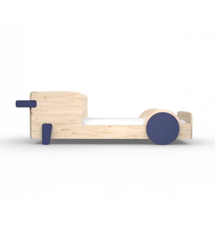 Single Bed Montessori Discovery - Mathy by Bols
