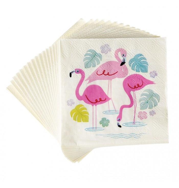 Flamingo - Tovaglioli - Rex London