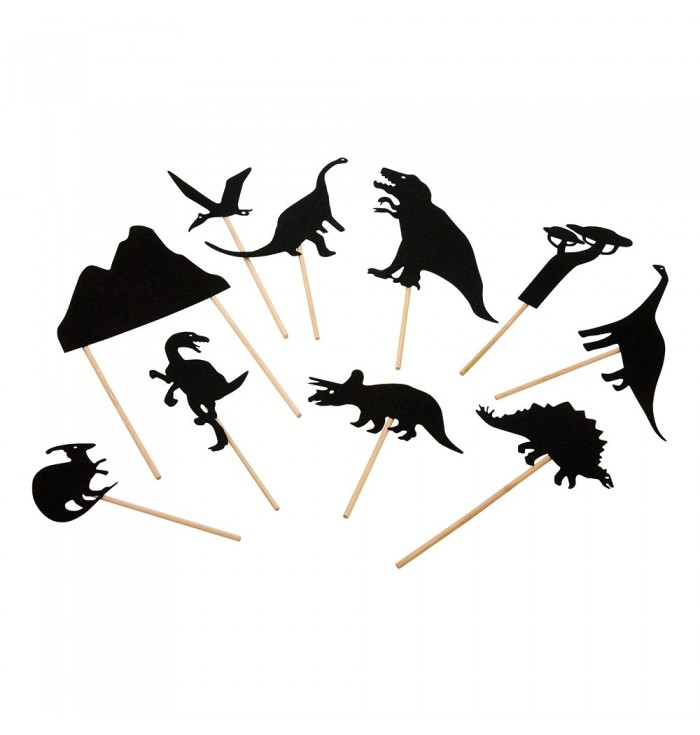 Evening Shadows - Dinosaurs