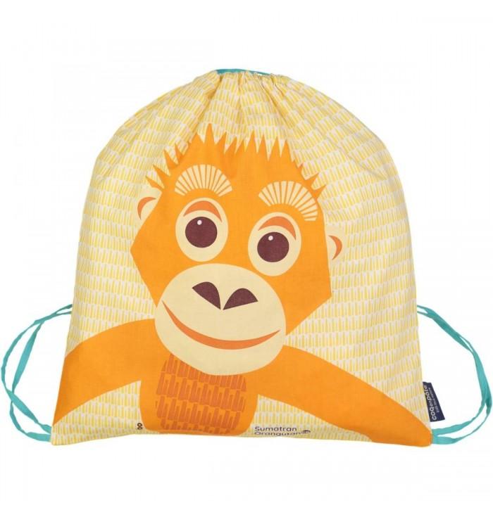 Backpack Bag - Orangutan - Coq en Pâte