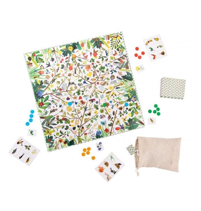Board Game - The Treasures Of The Garden & Nature Observation Game