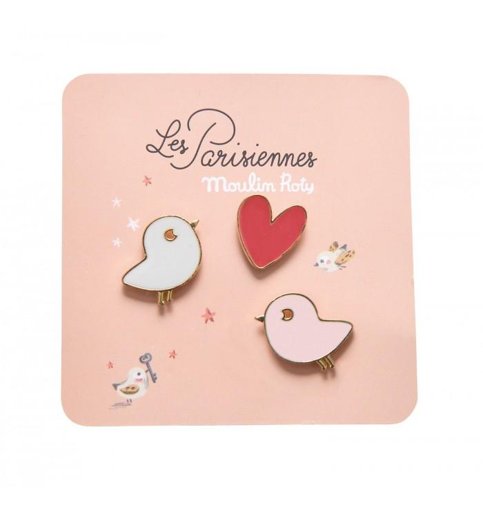 Badges Les Parisiennes