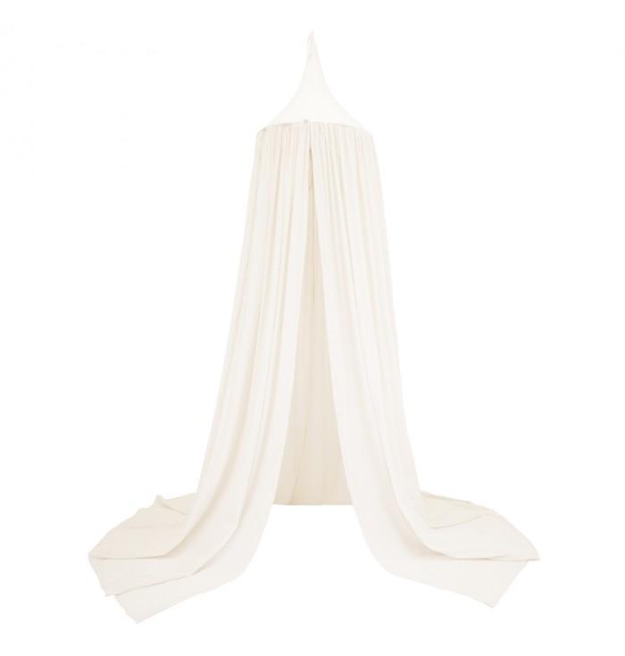 Canopy Curtain - Natural / Honey Sweet Dots