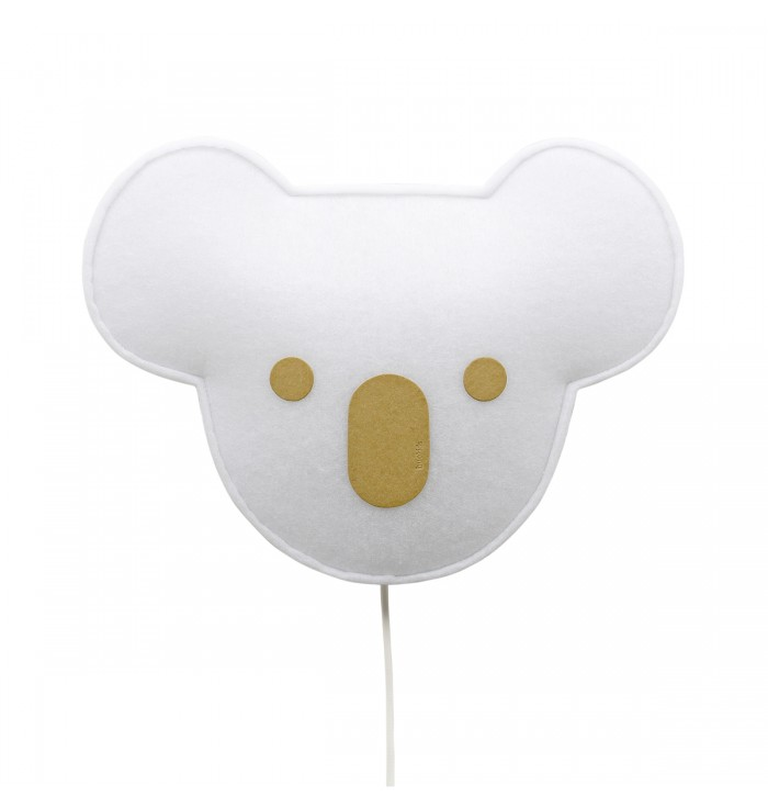 Soft Wall Lamp With Switch - Yellow Koala