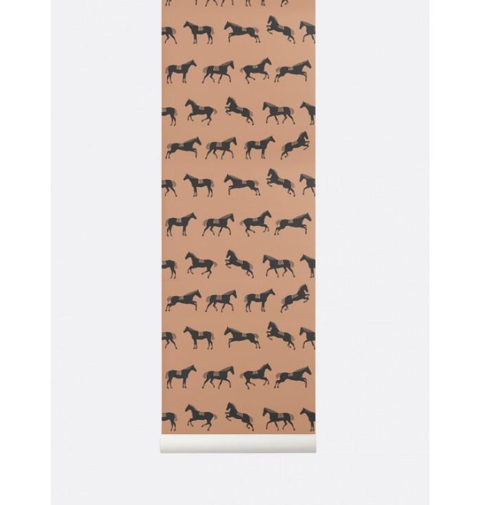 Wallpaper - Horses - Ferm Living