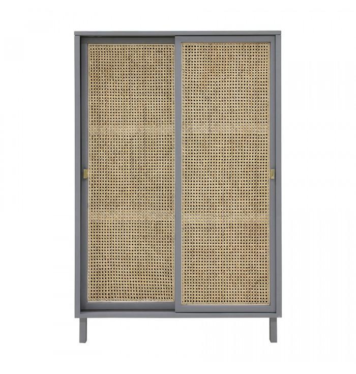Closet Sliding Doors - Gray