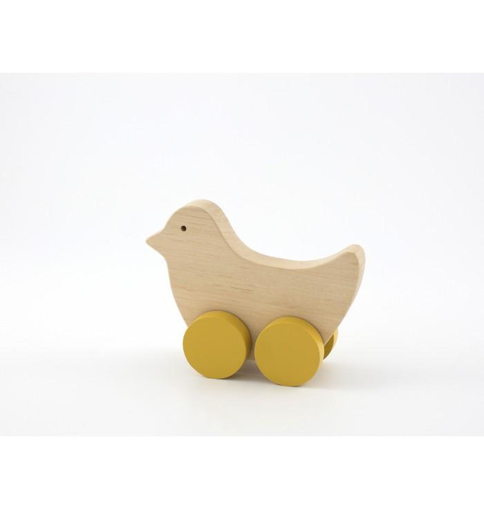 Trainabile in legno Pinch Toys