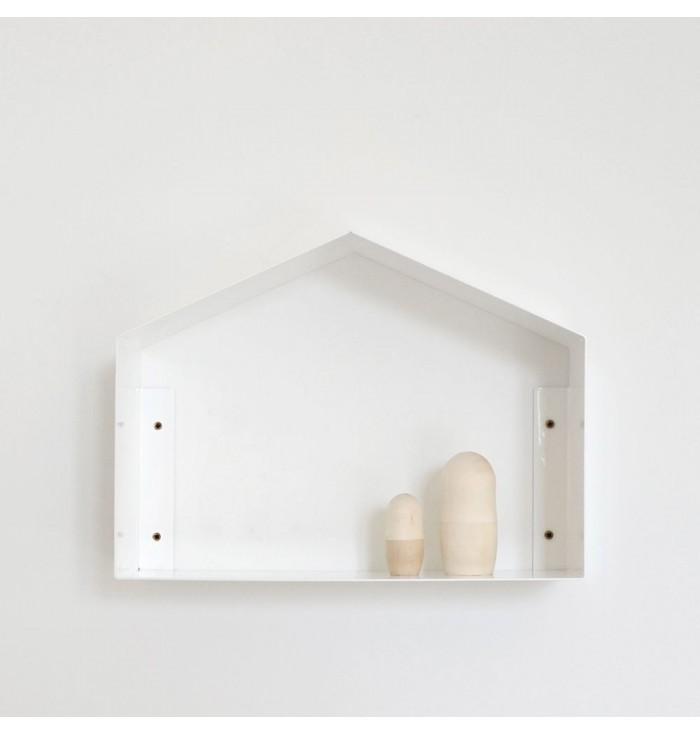 Metal Shelf Small House