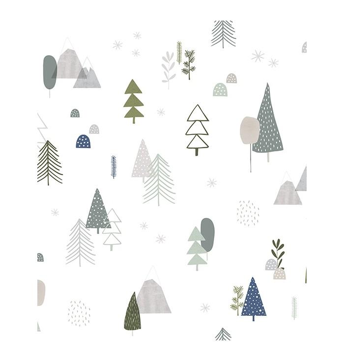 Wallpaper In The Woods