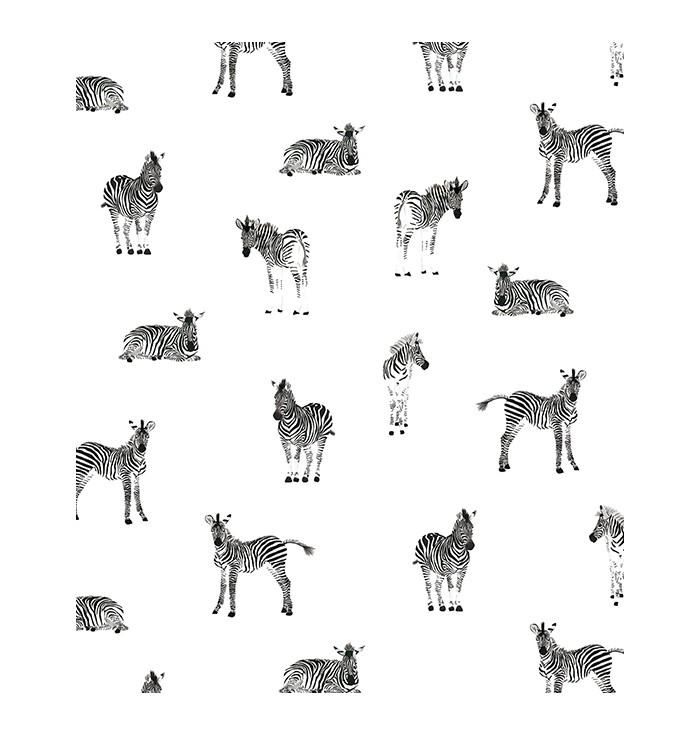 Wallpaper Mosai Zebra