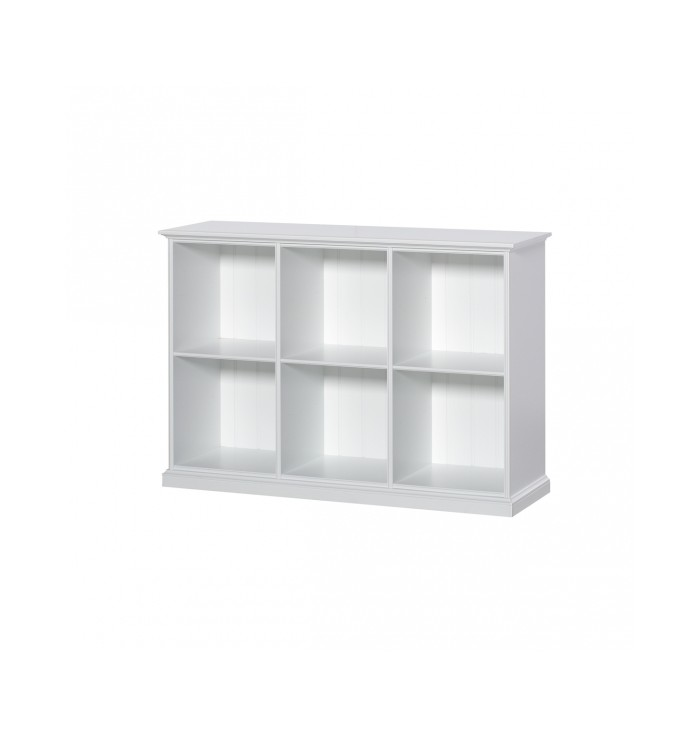 Seaside Shelving Unit Low - 6 rooms