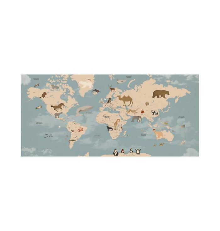Wallpaper - World Map