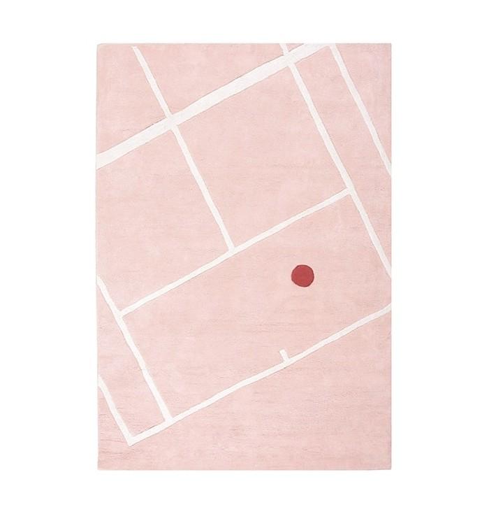 Tappeto Lilipinso -Campo da tennis
