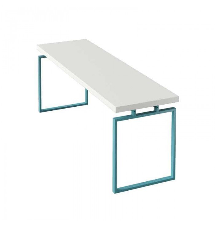 Desk With Metal Structure - Lagrama