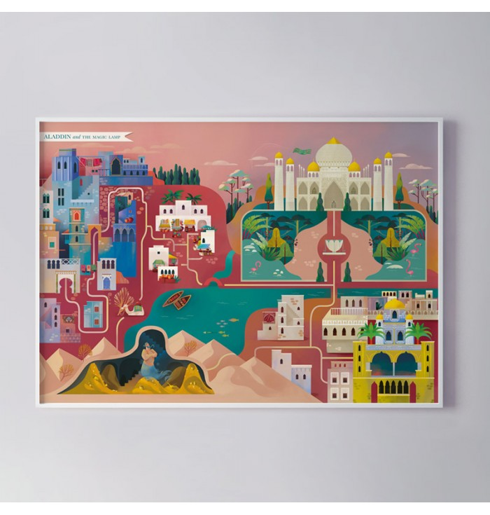 Poster  - Aladino