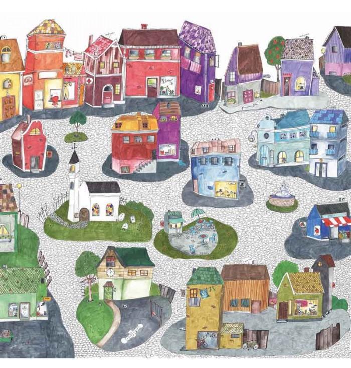 Wallpaper - The Cheerful Village