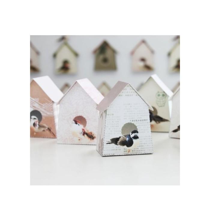 Carta Da Parati Birdhouse
