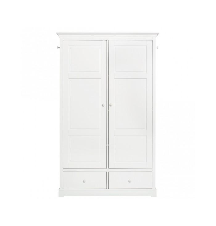 Seaside Wardrobe 2 Doors - Oliver Furniture