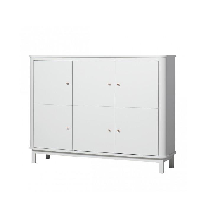 Wood Cupboard - Oliver Furniture