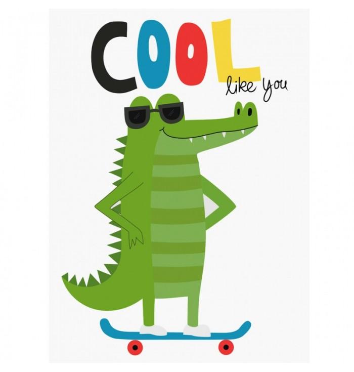 Of Cards - Cool Crocodile