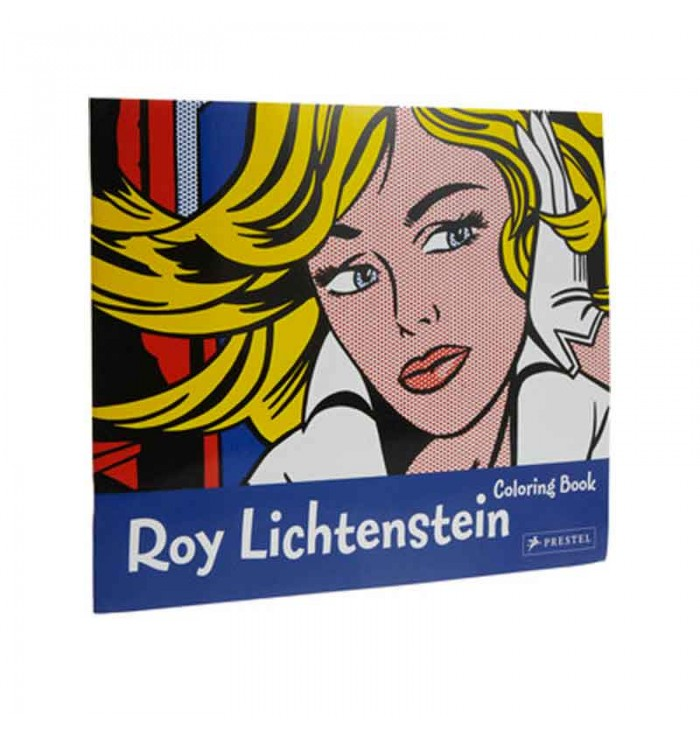 Coloring Book Roy Lichtestein