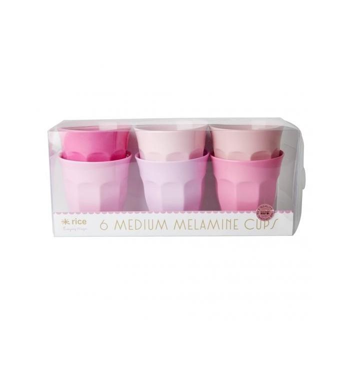 Set 6 bicchieri in melamina - Small - Rice DK
