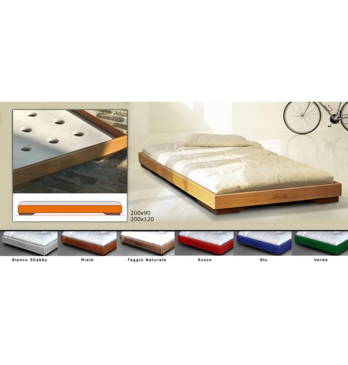 Lettino Montessori Puro Maxi Con Futon - Woodly