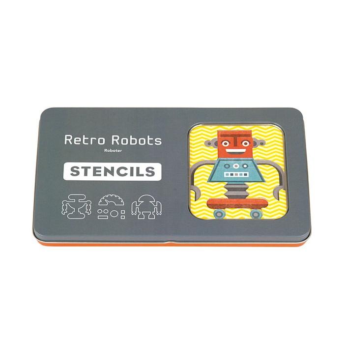 Stencil - Retro Robot