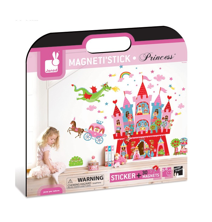 Magnetic Sticker - Enchanted Castle